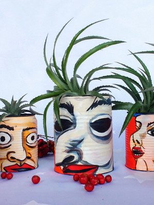 James Ensor | kit de latas para plantas