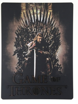 Quadro 3D / Painel Decorativo Game Of Thrones