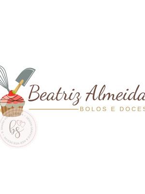 Logotipo Confeitaria Bolo Pré-criada