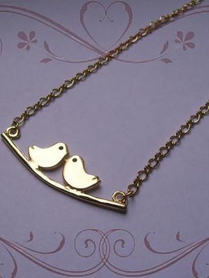 Cordão dourado Lovebirds