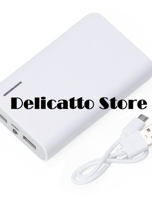 Power Bank Plástico com Lanterna - DS2063