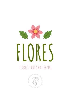 Logotipo Floricultura - Arte Digital