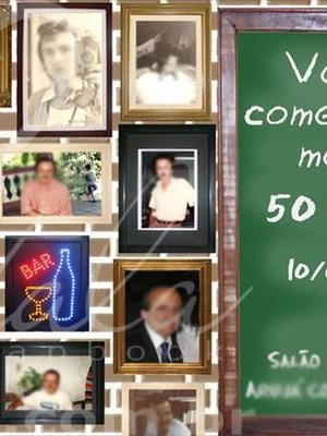 Convite Festa Boteco com fotos