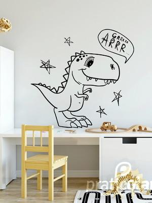Adesivo de Parede Dinossauro T-Rex