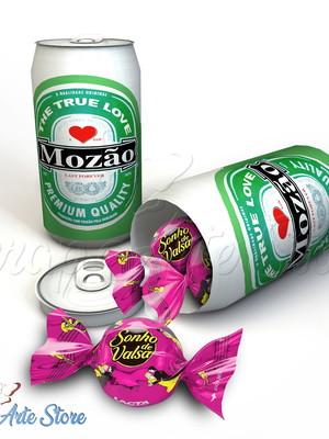 Arquivo de Corte Caixa latinha Heineken Dia dos Namorados