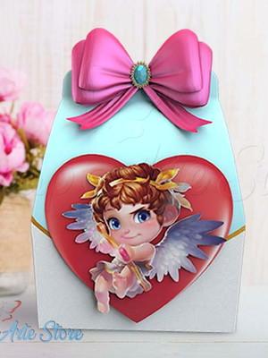 Arquivo de Corte Caixa Cupido Dia dos Namorados