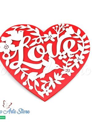 Arquivo de Corte Caixa coração Dia das mães