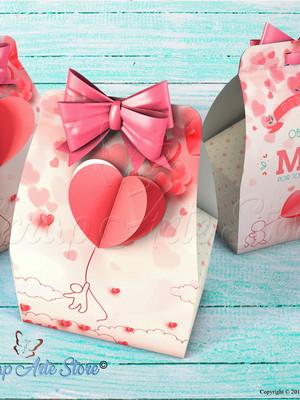 Caixa de lembrancinha Dia das mães