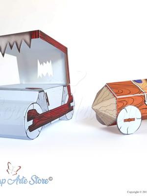 Carro dos Flintstones Silhouette