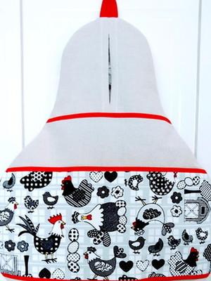Puxa Saco Cozinha 40 x 34 cm Base de Tecido Reciclado