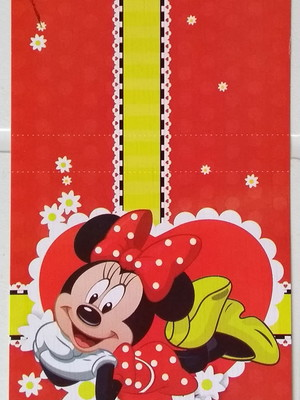 Capa Pirulito Minnie Vermelha (10 unid.)