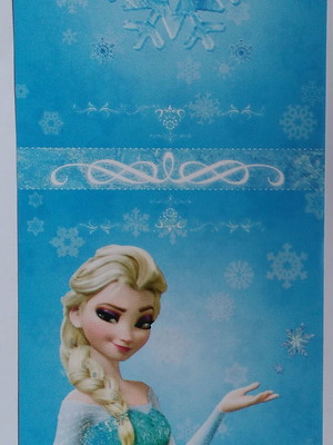 Capa Pirulito Frozen (10 unid.)