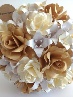 Buquê de origami Sol {noiva}