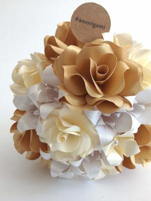 Buquê de origami Sol {solteiras}