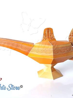 Arquivo de Corte caixa Lâmpada de Aladdin