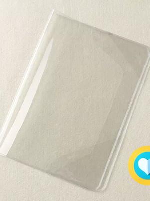 capa transparente para livro do bebê Amor no Papel