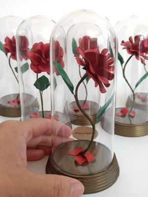 {Kit} 50 Rosas Encantada M - A Bela e a Fera
