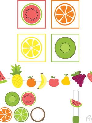 Kit festa Frutinhas- digital