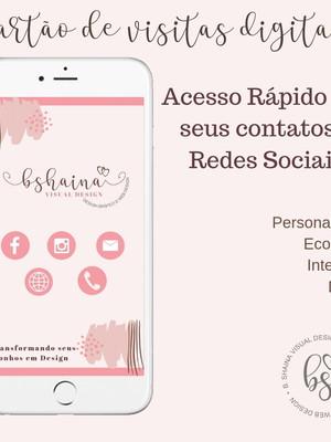Cartão de Visita Digital Personalizados -Leia as Informações
