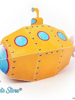Caixa Submarino