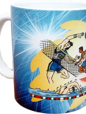 Caneca Dia Dos Professores Esportes Cerâmica 325 ml