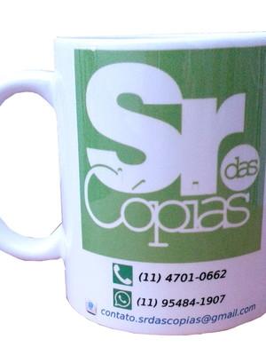 Caneca Personalizada com Logomarca de Cerâmica 325 ml