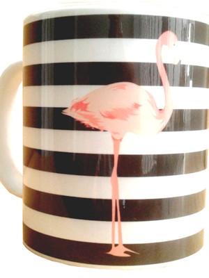 Caneca Personalizada Flamingo de Cerâmica 325 ml