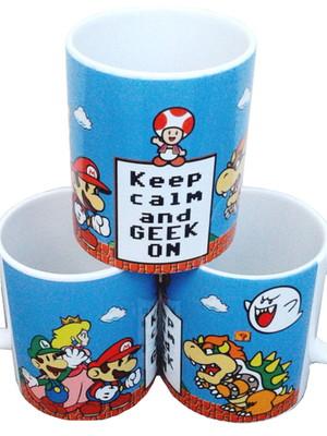 Caneca Personalizada GEEK Super Nintendo de Cerâmica 325 ml