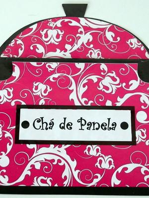 Convite Cha de Panela (01 convite)
