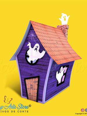Casa assombrada halloween