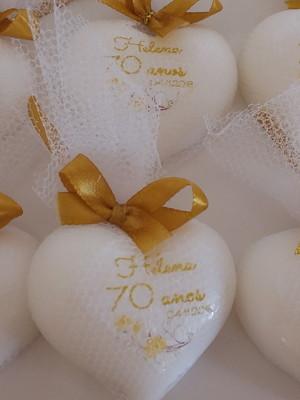 Sabonete personalizado para aniversário de 70 anos