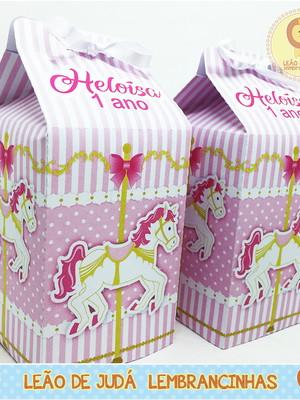 Caixa Milk Carrocel