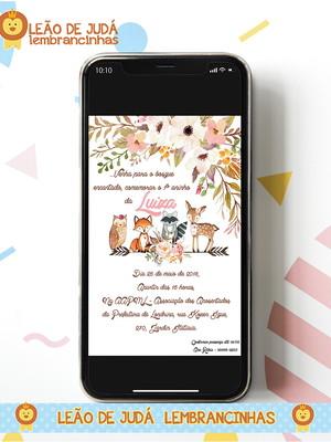 Convite digital BOSQUE
