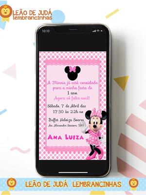 Convite digital MINNEI