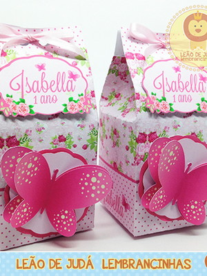 Caixa milk Borboleta
