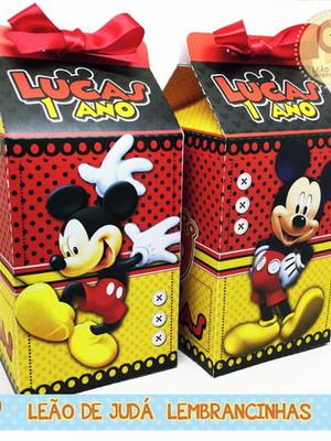 Caixa Milk Mickey sem aplique