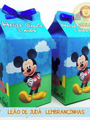 Caixinha Milk Mickey