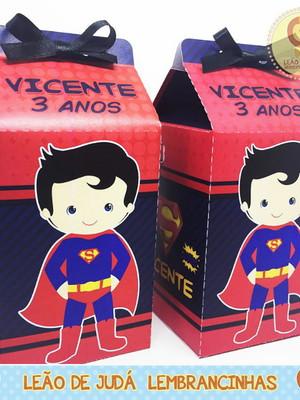 Caixa Milk Super Men