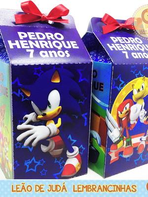 Caixinha Milk Sonic