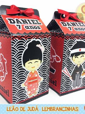 Caixinha Milk Tema Japão