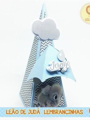 Caixa Pirâmide Elefante
