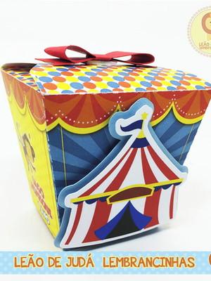 Caixinha Sushi tema circo