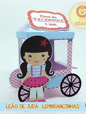Carrinho de Pipoca tema Circo modelo 3