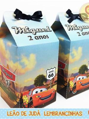 Caixa Milk Tema Carros