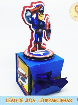 Caixinha Cubo Vingadores
