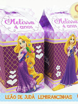 Caixa Milk Rapunzel