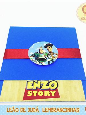 Convite Esmeralda tema Toy Story