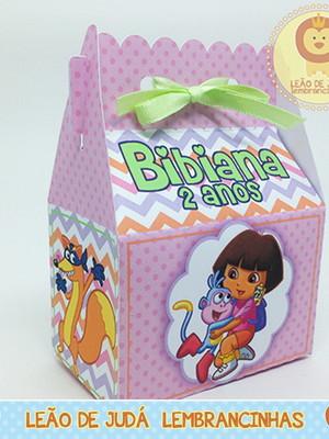Caixinha Sorriso tema Dora Aventureira