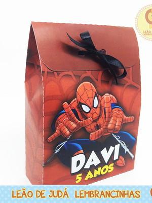 Caixa Docinho Homem Aranha