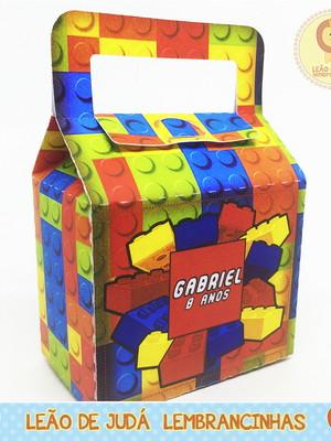 Caixinha Benim tema Lego